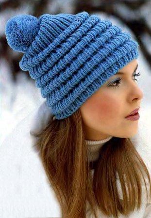 Вязаная шапка - Трикотажные изделия