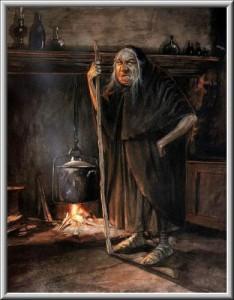 Страшная история о ведьме