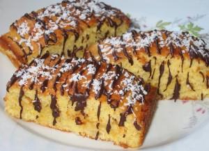 Кокосовые пирожные