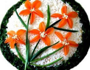 Салат «Нарциссы»