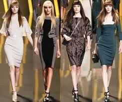 Модные платья 2013