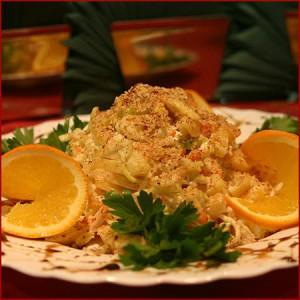 Рецепт салата курочка ряба