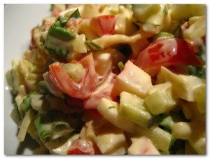 Рецепт салата из помидор