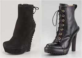 Модные ботинки осени-зимы 2012-2013