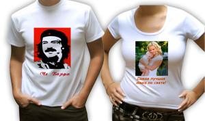 Технологии печати на футболке
